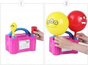 Pompe électrique pour ballon de baudruche MVPower